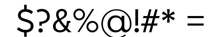 Larke Neue Regular Font OTHER CHARS