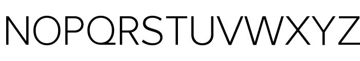 Larke Neue Thin Font UPPERCASE