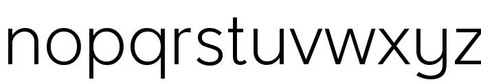 Larke Neue Thin Font LOWERCASE