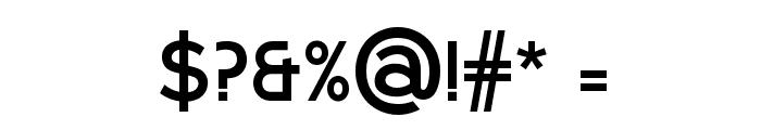 Larke Sans Bold Font OTHER CHARS