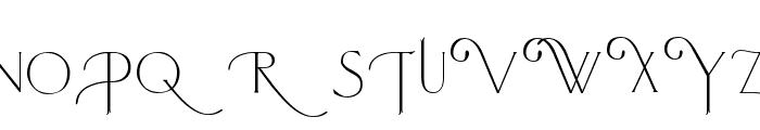 Larkin Capitals Font LOWERCASE