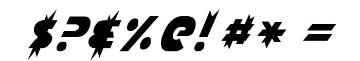 Laser Rod Normal Font OTHER CHARS