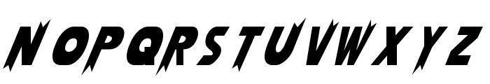 Laser Rod Normal Font LOWERCASE