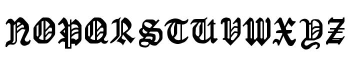 LaserLondon Regular Font UPPERCASE