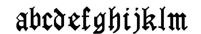 LaserLondon Regular Font LOWERCASE