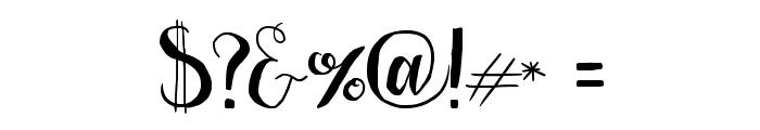 LaserMetal Font OTHER CHARS