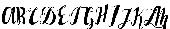 LaserMetal Font UPPERCASE
