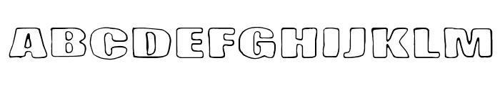Lasihiekka Font UPPERCASE