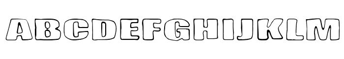 Lasihiekka Font LOWERCASE