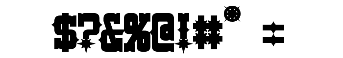Lassiter Bold Font OTHER CHARS