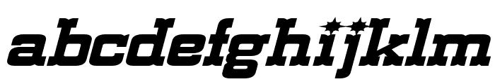 Lassiter Extended Italic Font LOWERCASE