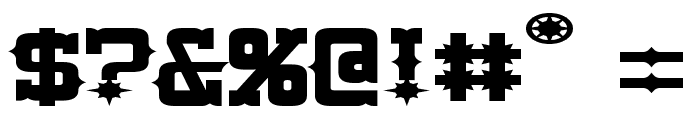 Lassiter Extended Font OTHER CHARS