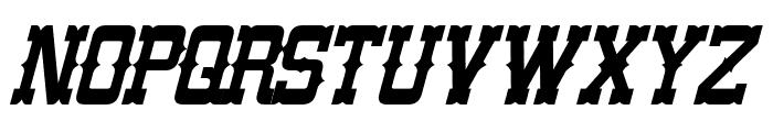 Lassiter Italic Font UPPERCASE