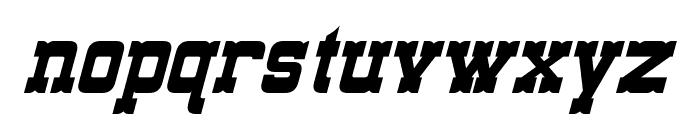 Lassiter Italic Font LOWERCASE