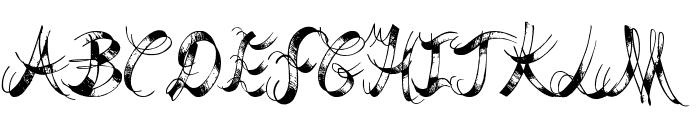Last Breath Font UPPERCASE