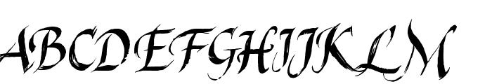 Last King Quest Font UPPERCASE