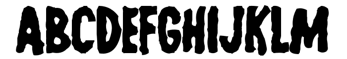 Last Man on Earth Font LOWERCASE