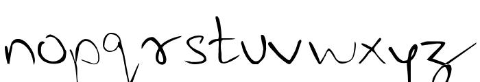 Last Note  Regular Font LOWERCASE