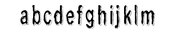 Last living souls Shadow Font LOWERCASE