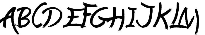 Lasting Love Font UPPERCASE