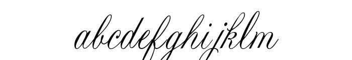 Lastochka Font LOWERCASE
