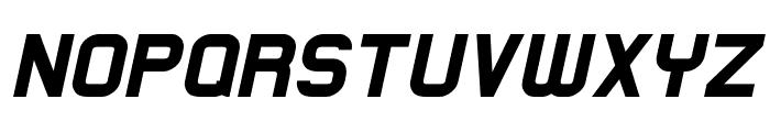 Lastwaerk black Oblique Font UPPERCASE