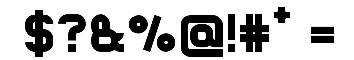 Lastwaerk black Font OTHER CHARS