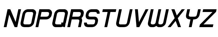 Lastwaerk bold Oblique Font UPPERCASE