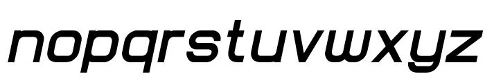 Lastwaerk bold Oblique Font LOWERCASE