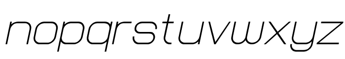 Lastwaerk light Oblique Font LOWERCASE