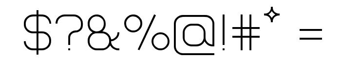 Lastwaerk light Font OTHER CHARS