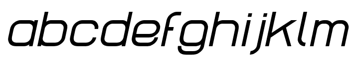 Lastwaerk regular Oblique Font LOWERCASE