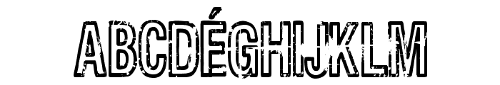 Latabr Font UPPERCASE