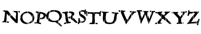 LateDrank Font UPPERCASE