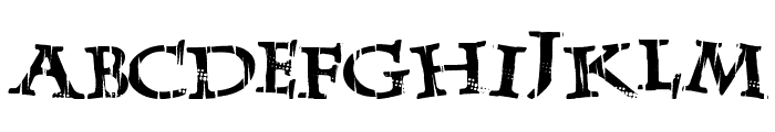 LateDrank Font LOWERCASE