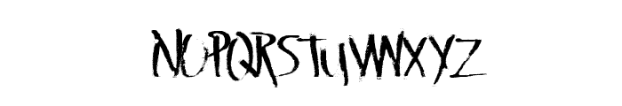 LateVaping Font UPPERCASE