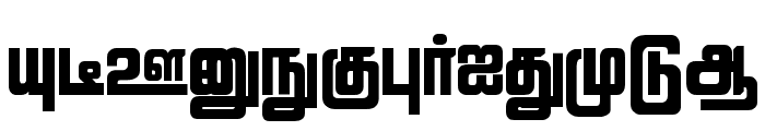 Lathangi Regular Font UPPERCASE