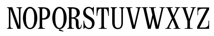LatinCondensed-SemiBold Font UPPERCASE