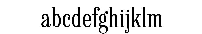 LatinCondensed-SemiBold Font LOWERCASE