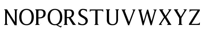 Latine Font UPPERCASE