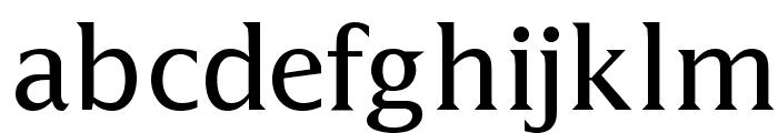Latine Font LOWERCASE