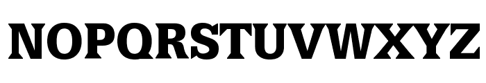 LatiniaBlack Font UPPERCASE