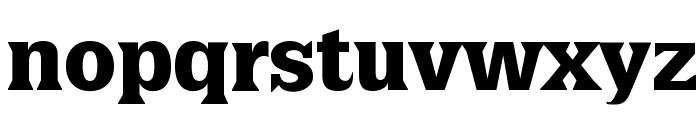 LatiniaBlack Font LOWERCASE