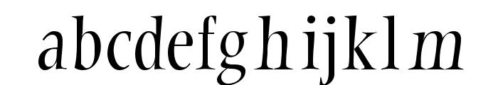 LatinumTallX Font LOWERCASE
