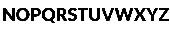 Lato Black Font UPPERCASE