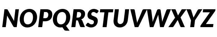 Lato ExtraBold Italic Font UPPERCASE