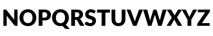 Lato ExtraBold Font UPPERCASE
