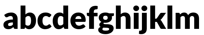 Lato ExtraBold Font LOWERCASE