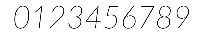 Lato ExtraLight Italic Font OTHER CHARS
