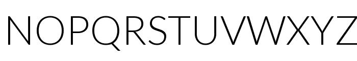 Lato-Light Font UPPERCASE